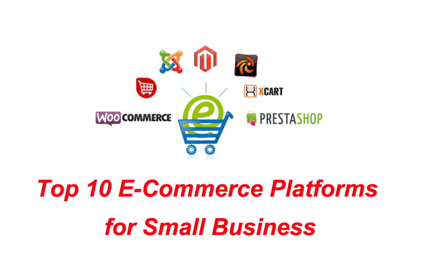 Top 10 E-Commerce Platforms for Small Business