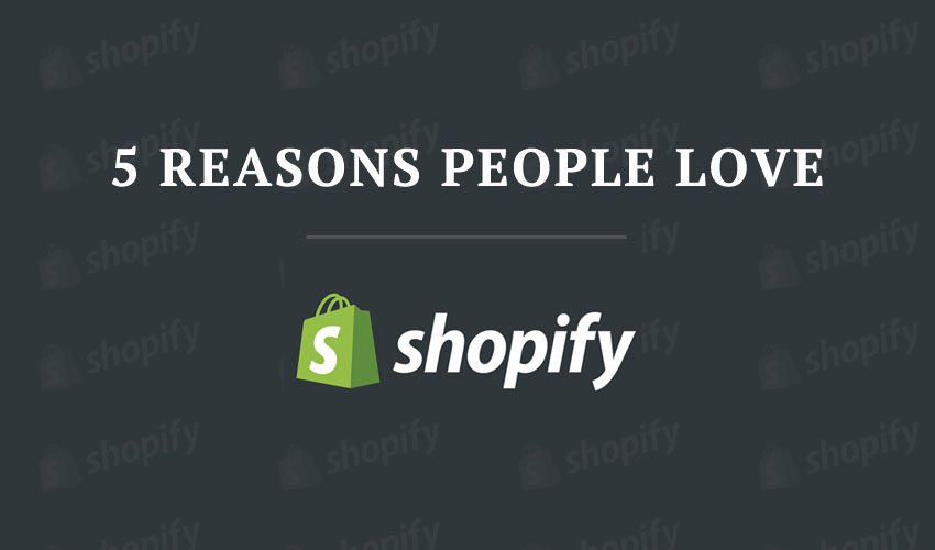5 Reasons People Love Shopify