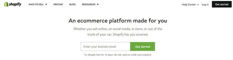 Shopify Platform Start