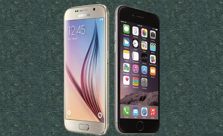 iPhone Vs Samsung Display