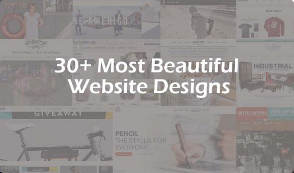 Most Beautiful Website Designs
