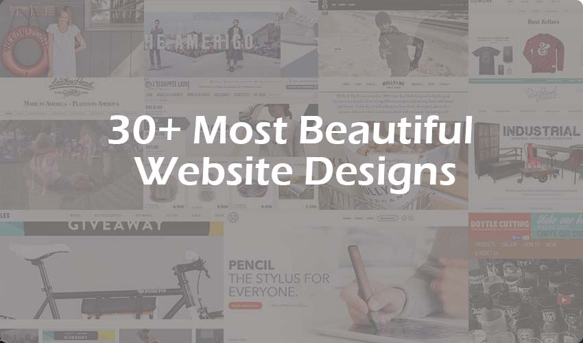 30+ Most Beautiful Ecommerce Website Designs