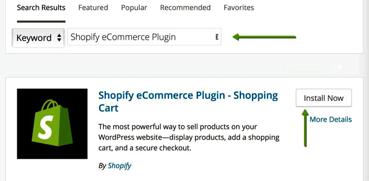Shopify Plugin Install