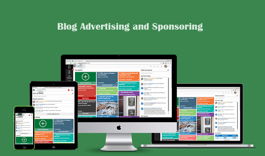 Difference Between Blog Advertising and Sponsoring