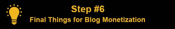 How to start a blog and make money online Final Things How to Start Blog