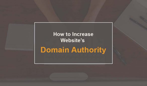 How to Increase Site's Domain Authority