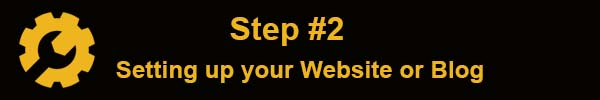 How to start a blog and make money online Setting up your Website