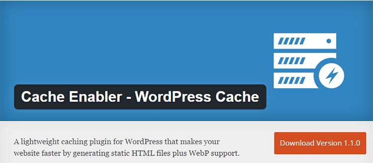 Caching Plugins Cache Enabler