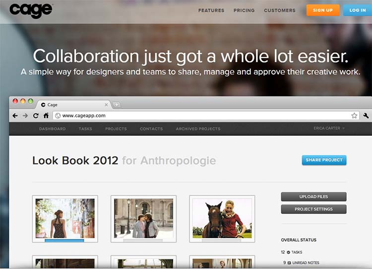 Cage Best Collaboration Tools for Web Designers