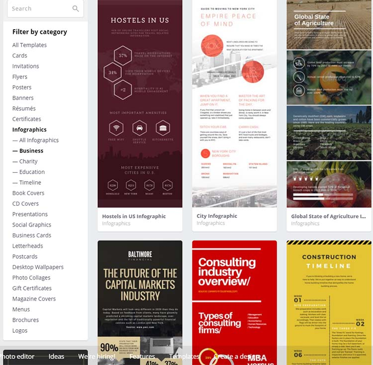 Canva Templates Infographic Generator Tools