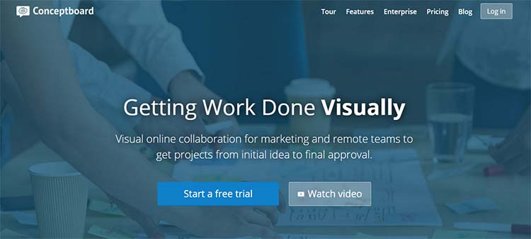 Conceptboard Best Collaboration Tools for Web Designers