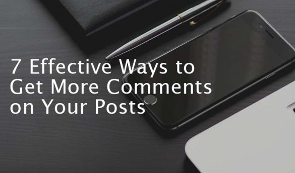 Get More Comments on Your Posts