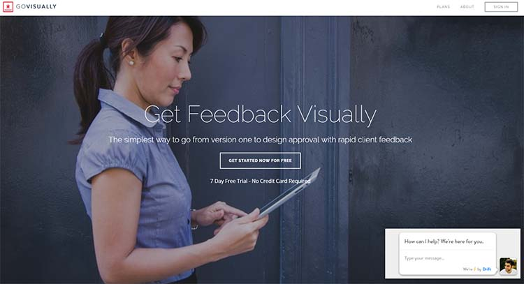 GoVisually Best Collaboration Tools for Web Designers