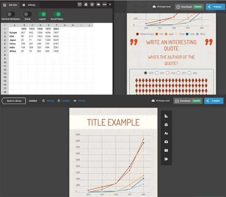 Infogr.am Design Infographic Generator Tools
