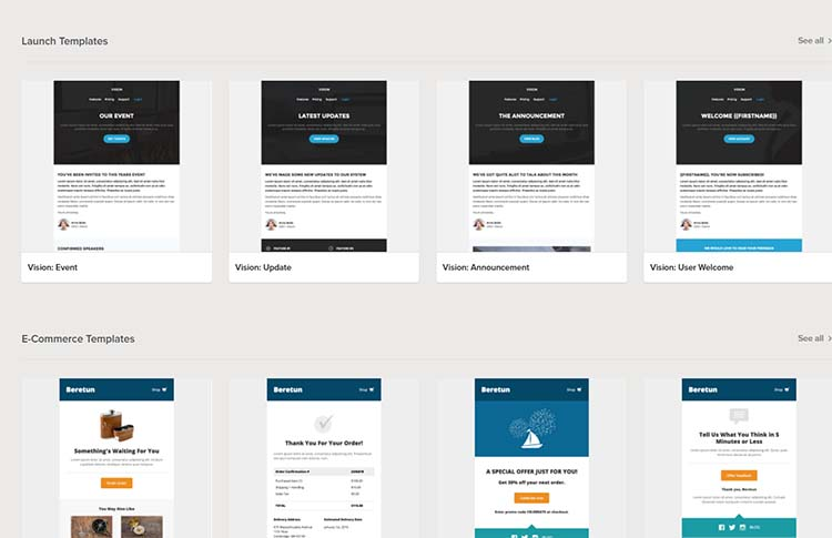 Litmus Email Newsletters Templates
