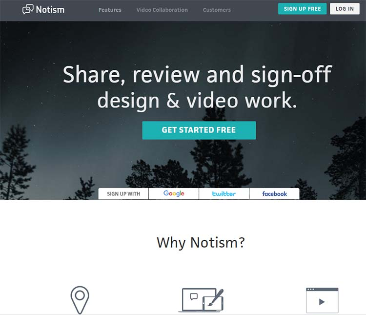 Notism Best Collaboration Tools for Web Designers