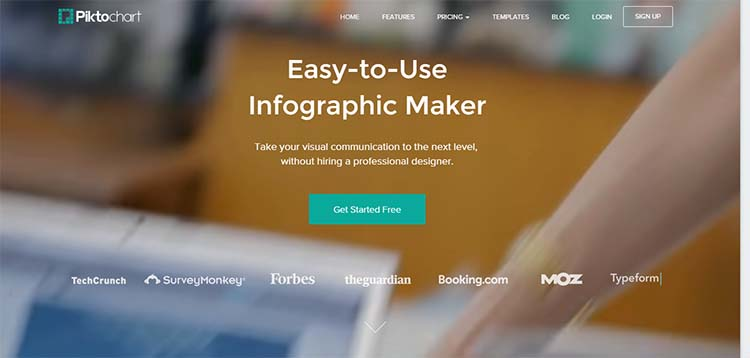 Piktochart Infographic Generator Tools