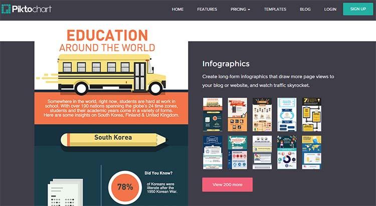 Piktochart Templates Infographic Generator Tools