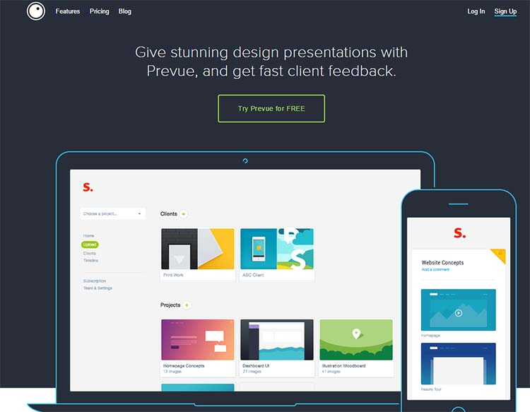 Prevue Best Collaboration Tools for Web Designers