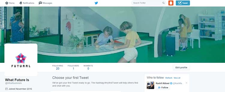 Twitter Final Home Page