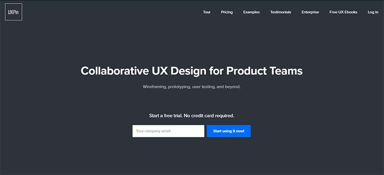 UXpin Best Collaboration Tools for Web Designers