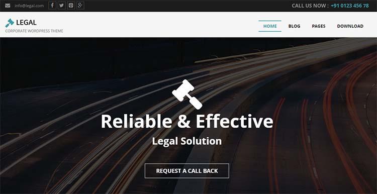 WordPress Themes Legal