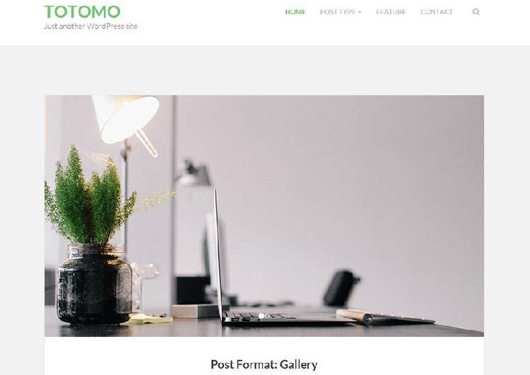 WordPress Themes Totomo