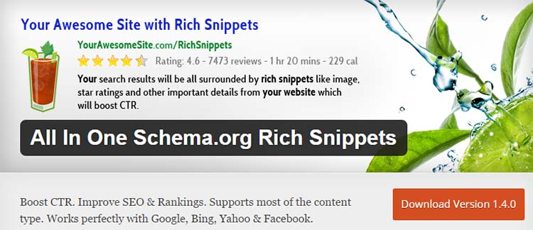 All In One Schema.org Rich Snippets Plugins