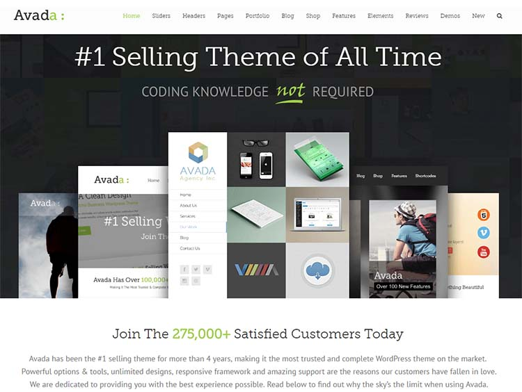 Avada Multipurpose WordPress Themes