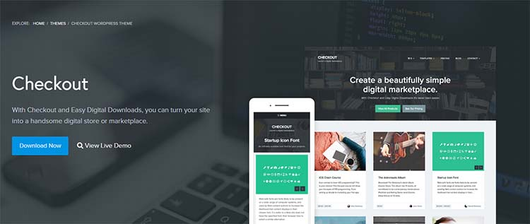 Checkout Marketplace WordPress Themes