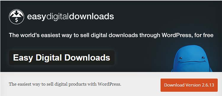 Easy Digital Downloads WordPress Ecommerce Plugins