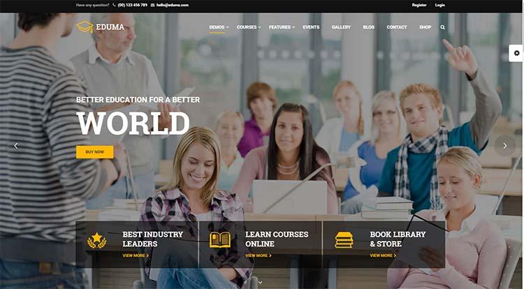 Education WP Education WordPress Themes