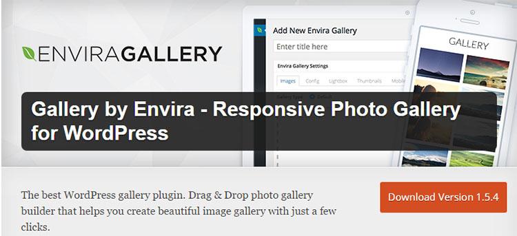 Envira Gallery Plugins for WordPress