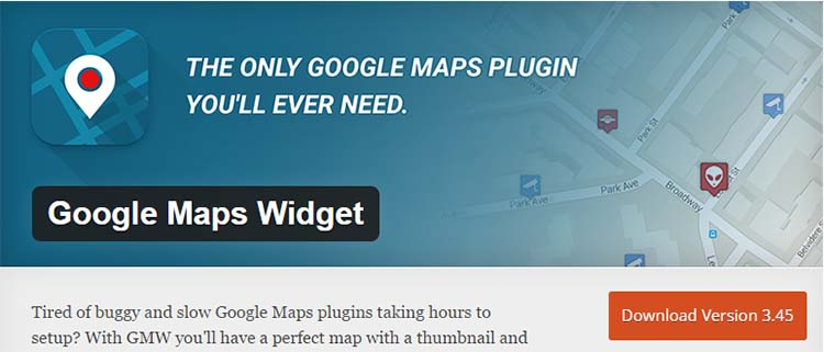 Google Maps Plugins Widget Maps