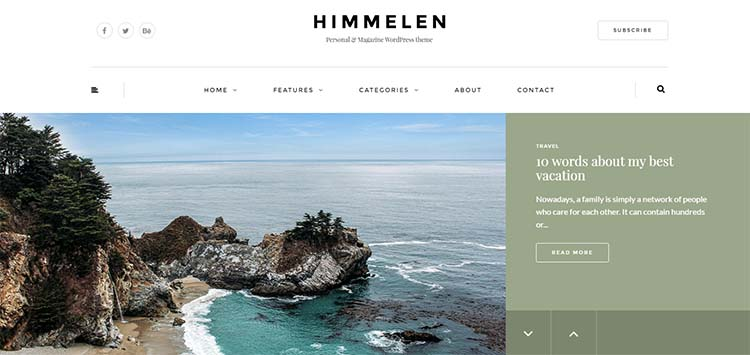 Himmelen Travel WordPress Themes