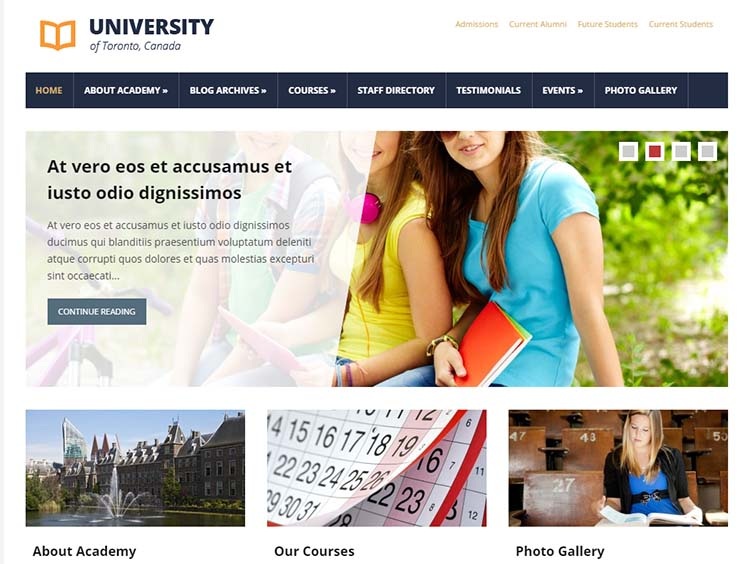 Lectura Education WordPress Themes