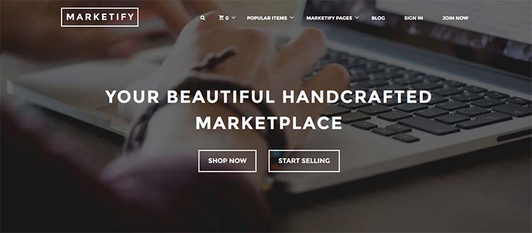 Marketify Marketplace WordPress Themes