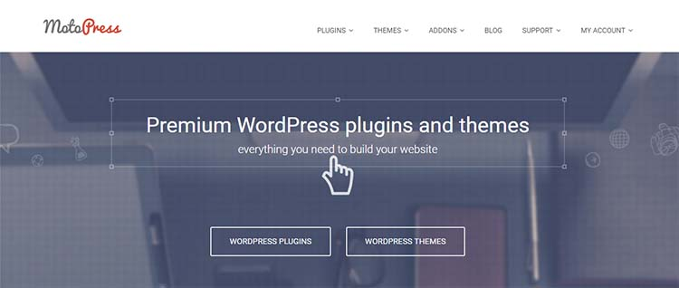 MotoPress Drag and Drop WordPress Page Builder Plugins
