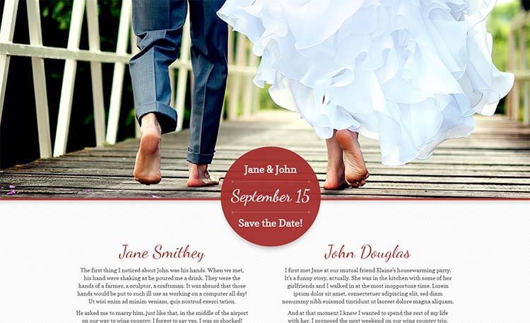 My Wedding WordPress Themes