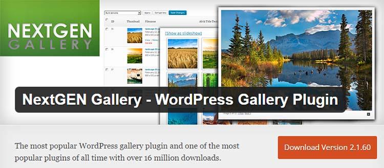 NextGen Gallery Plugins for WordPress