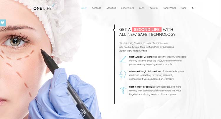 OneLife Medical WordPress Themes