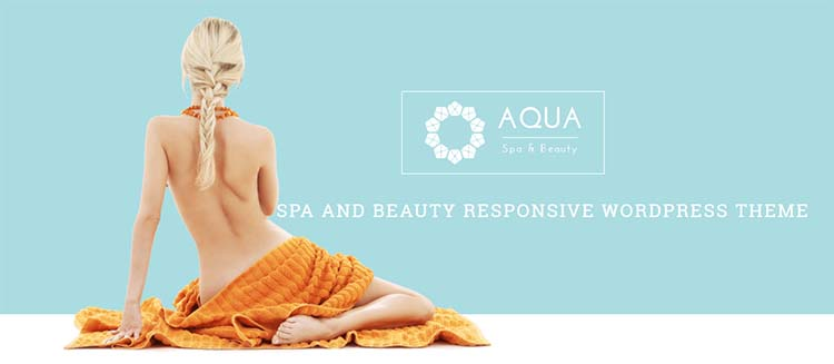 Salon WordPress Themes Aqua