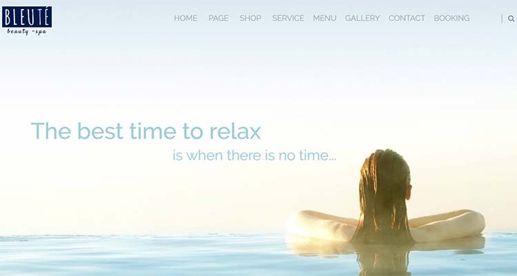 Salon WordPress Themes Bleute