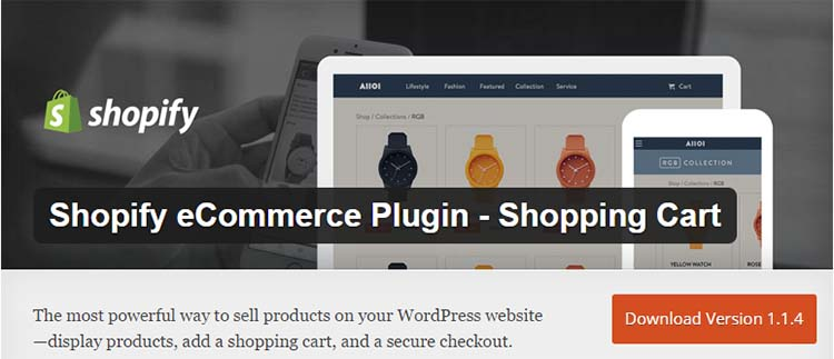 Shopify WordPress Ecommerce Plugins