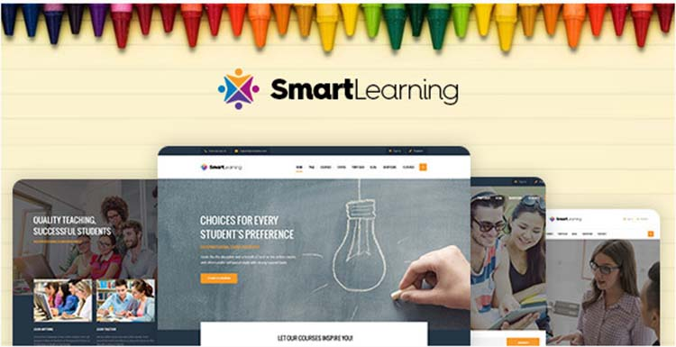 SmartLearning Education WordPress Themes