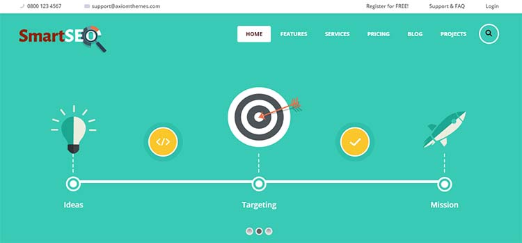 SmartSEO Marketing WordPress Themes