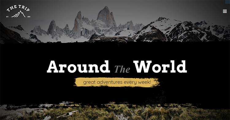 The Trip Travel WordPress Themes
