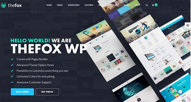Thefox Multipurpose WordPress Themes