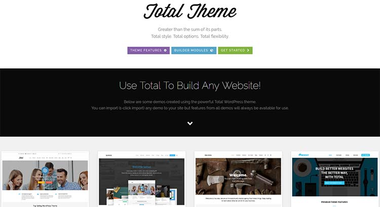 Total Multipurpose WordPress Themes