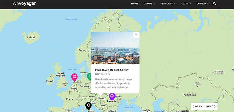 WPVoyager Travel WordPress Themes
